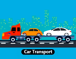 Car transportation service in Vijayawada