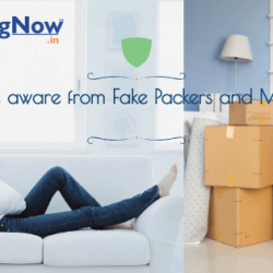 Be aware from Fake Packers and Movers