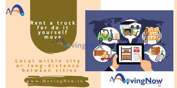 How to rent a truck for do it yourself house shifting