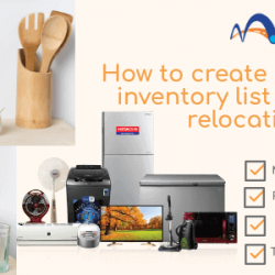 How to create household inventory list for home relocation