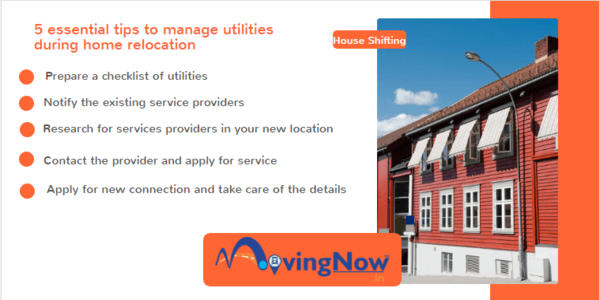 essential tips to manage utilities during home relocation