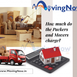 How much do the Packers and Movers charge?
