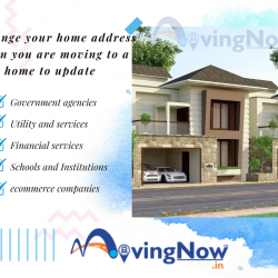 Change your home address when you are moving to a new home to update
