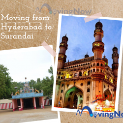 Moving from Hyderabad to Surandai