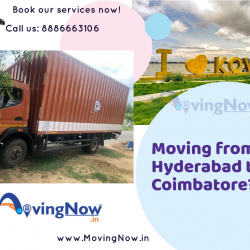 moving from hyderabad to coimbatore