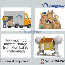 How much do the movers charge from Mumbai to Hyderabad?