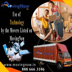 Use of technology by the movers listed on MovingNow to make your move stress-free