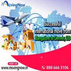 Our recent assignment: Successfully completed international move from Bangalore to Denver, US